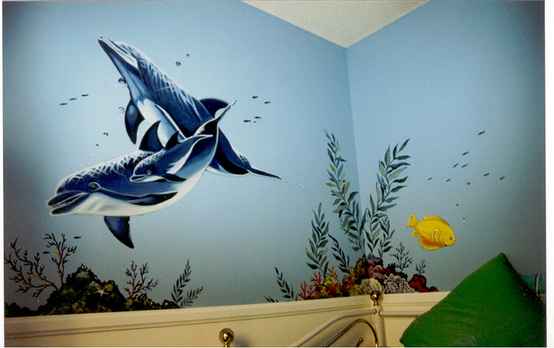 Wall murals custom murals murals by marie for Custom wall mural